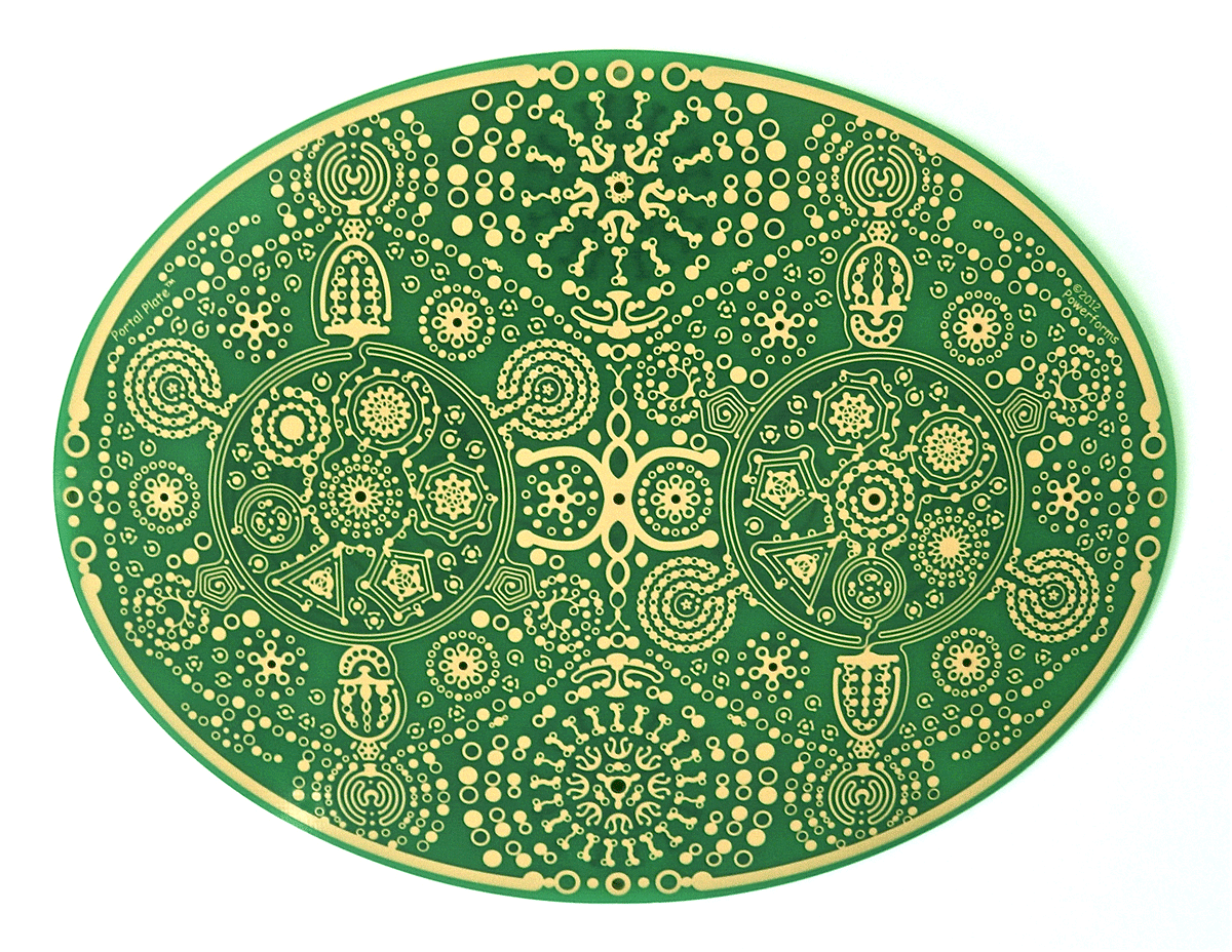 feng shui powerforms portal plate