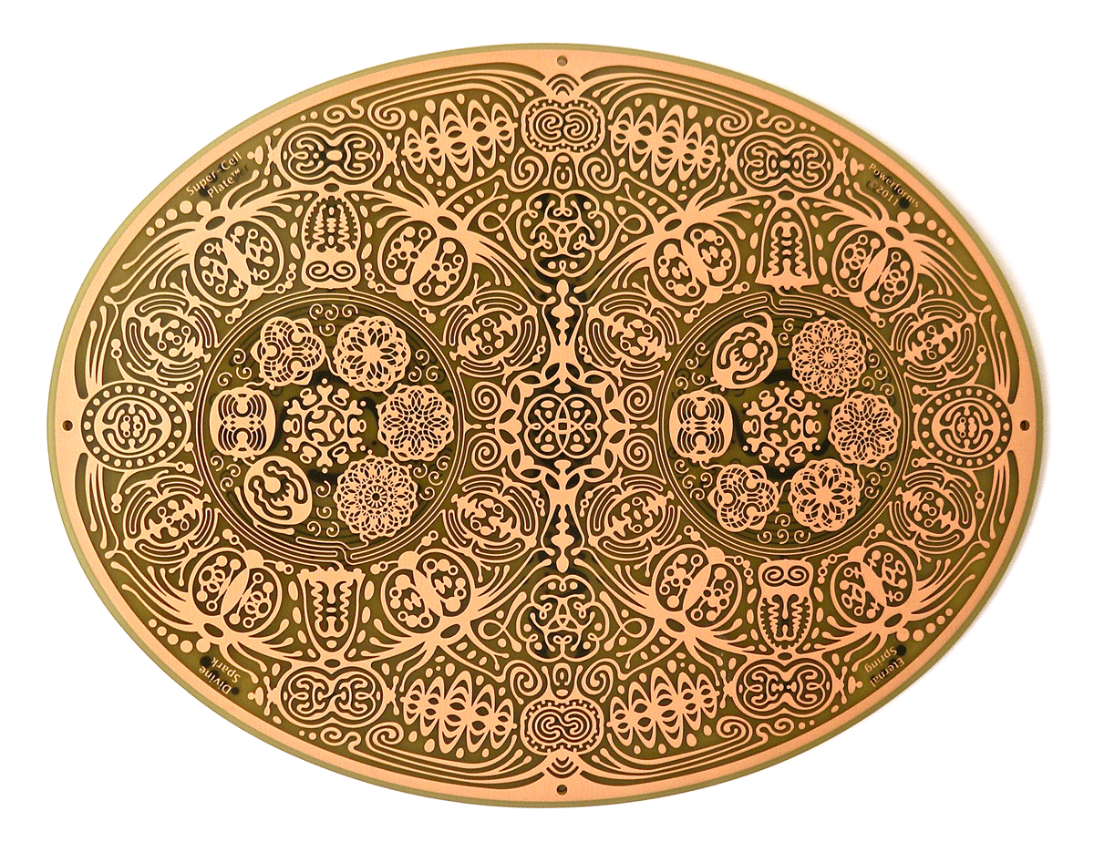feng shui powerforms Super cell Plate