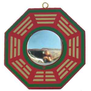 bagua mirror placement