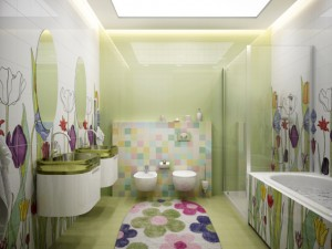 Feng Shui Bathroom Color